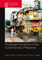 Routledge Handbook of the Contemporary Philippines PDF