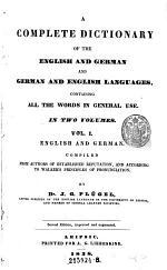 Theil I Englisch und Deutsch