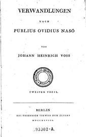 Verwandlungen nach Publius Ovidius Naso