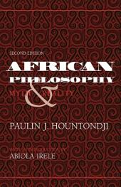 African Philosophy: Myth and Reality