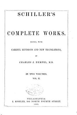 Complete Works  Ed  with Careful Rev  and New Tr   by C J  Hempel