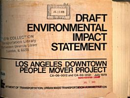 Los Angeles Downtown People Mover Project PDF