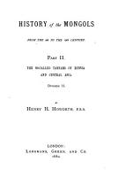 History of the Mongols PDF