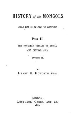 History of the Mongols