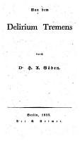 Von dem Delirium tremens PDF