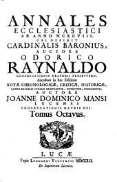 Annales ecclesiastici auctore Caesare Barono ... una cum critica historico-chronologica Antonii Pagii (etc.)