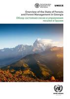 Overview of the State of Forests and Forest Management in Georgia PDF