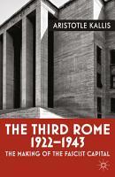 The Third Rome  1922 43 PDF