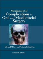 Management of Complications in Oral and Maxillofacial Surgery PDF