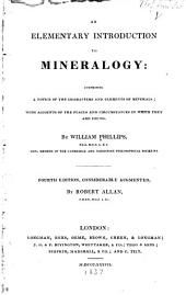 An Elementary Introduction to Mineralogy ...