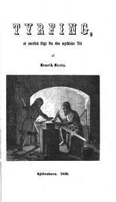 Tyrfing: et nordisk digt fra den mythiske tid