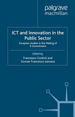 ICT and Innovation in the Public Sector