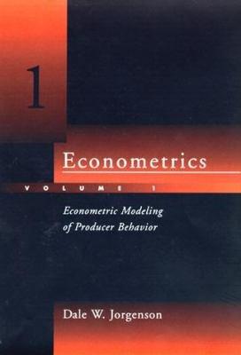 Econometrics  Econometric modeling of producer behavior PDF