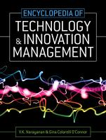 Encyclopedia of Technology and Innovation Management PDF