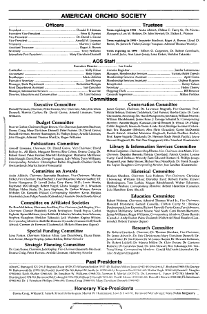 American Orchid Society Bulletin