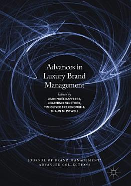 Advances in Luxury Brand Management PDF