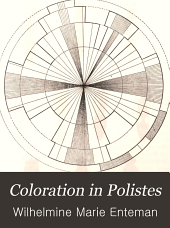 Coloration in Polistes