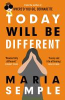 Today Will Be Different PDF