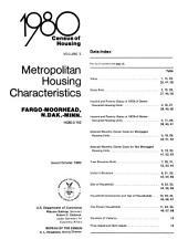 1980 Census of Housing: Metropolitan housing characteristics. Reno, Nev, Volume 2