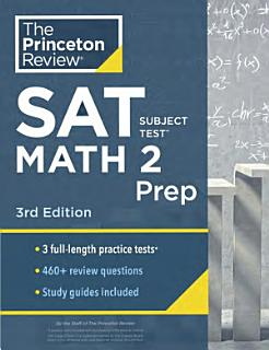 Cracking the SAT Subject Test in Math 2 Book