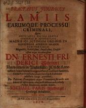 Tractatus iur. de lamiis ...