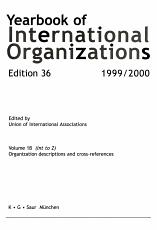 Yearbook of International Organizations Vol 1B  Int Z  1999 2000 PDF