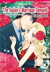 THE ITALIAN'S MARRIAGE DEMAND: Mills & Boon Comics