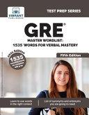 GRE Master Wordlist