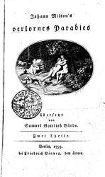 Johann Milton s verlornes Paradies PDF