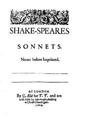 Sonnets, 1609