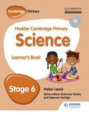 Hodder Cambridge Primary Science Learner's