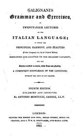 Grammar and exercises in twenty-four lectures on the Italian language