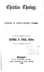 Christian Theology Book
