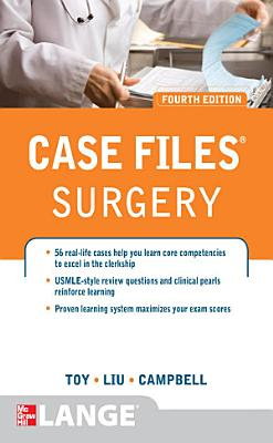 Case Files Surgery  Fourth Edition PDF