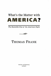 What s the Matter with America  PDF