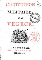 Institutions militaires de Vegece