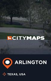 City Maps Arlington Texas, USA