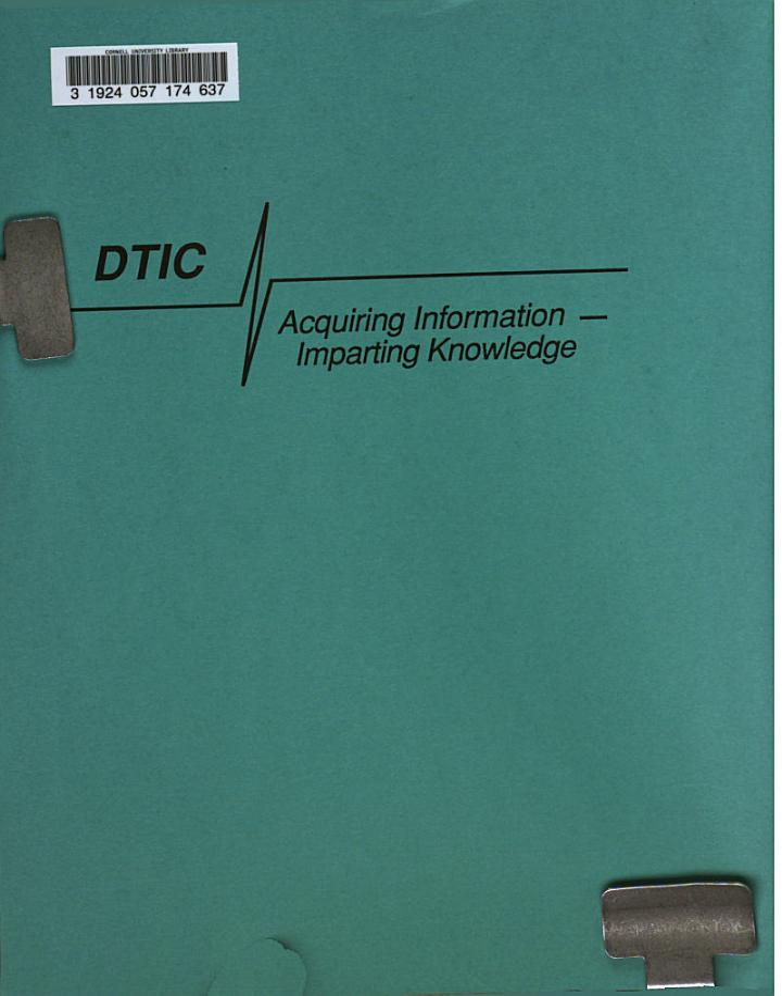 Technical Reports Awareness Circular : TRAC.