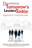 Developing Tomorrow s Leaders Today PDF