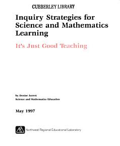 Inquiry Strategies for Science and Mathematics Learning PDF