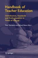 Handbook of Teacher Education PDF