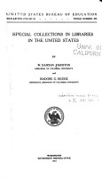 Special Collections in Libraries in the United States PDF