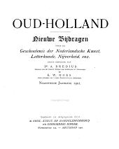 Oud-Holland: tijdschrift voor Nederlandse kunstgeschiedenis, Volume 19