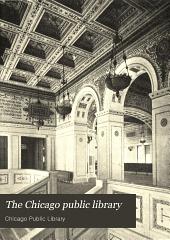 The Chicago Public Library: A Handbook