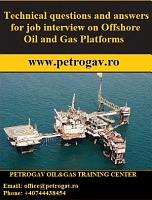 Technical questions and answers for job interview Offshore Oil   Gas Platforms PDF