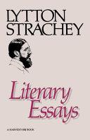 Download Literary Essays Book