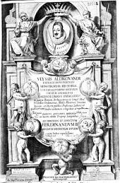 Vlyssis Aldrovandi... Monstrorum historia cum Paralipomenis historiae omnium animalium, Bartholomaeus Ambrosinus... uolumen composuit. Marcus Antonius Bernia in lucem edidit proprijs sumptibus...