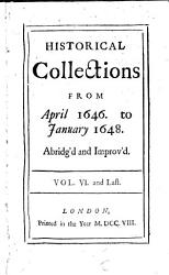 Mr Rushworth S Historical Collections Book PDF