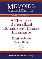 A Theory of Generalized Donaldson Thomas Invariants PDF