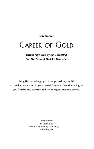 Career of Gold